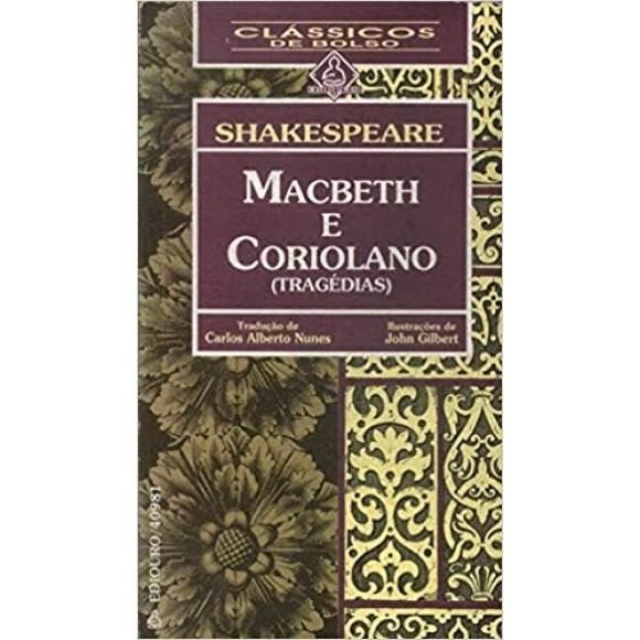 MACBETH E CORIOLANO - SHAKESPEARE