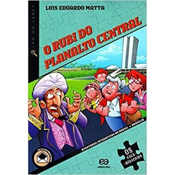 RUBI DO PLANALTO CENTRAL,O - CAÇA MISTERIOS - MATTA